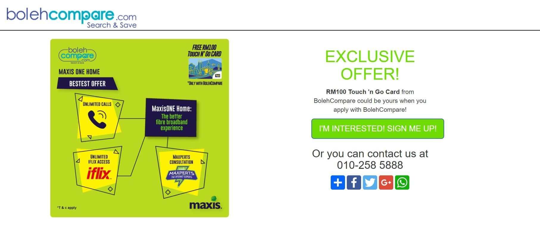 Maxis & Time affiliate programs
