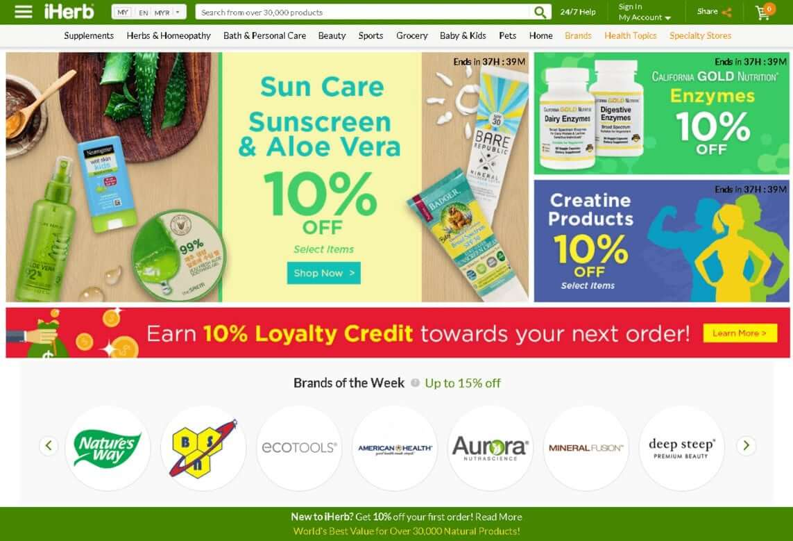 iHerb affiliate program, CPA, affiliate platform, Affiliate network Malaysia, Indoleads, nutra