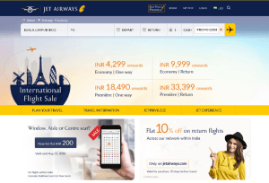 Jet Airways affiliate program, CPS, affiliate platform, affiliate network, Indoleads