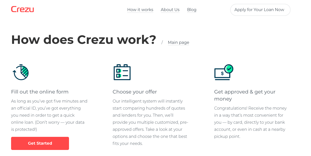 New offer Launched: Crezu ES Affiliate Program